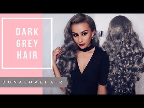 My Dark Grey Hair   Donalovehair