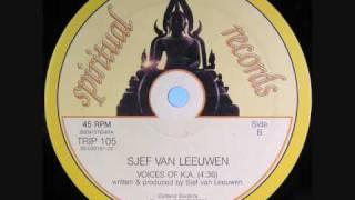 Sjef Van Leeuwen Voices Of K A