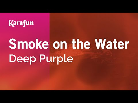 Karaoke Smoke On The Water  Deep Purple *
