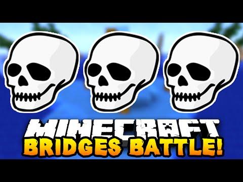 "Minecraft BRIDGES BATTLE ""PVP MASTERS!"" #9"