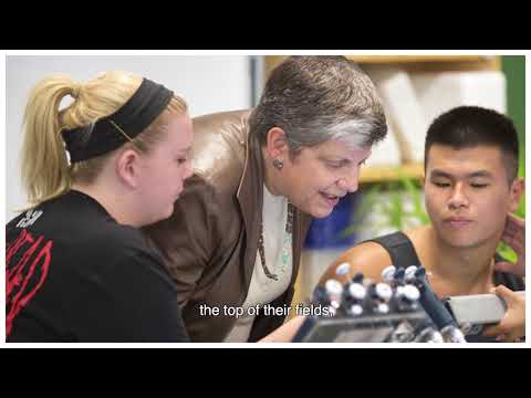 Janet Napolitano - Honorary Doctorate Recipient at BGU's 48th Board of Governors Meeting