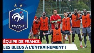 L'entraînement des Bleus, Equipe de France I FFF 2019