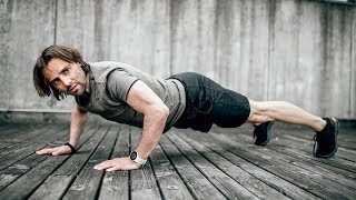 20 Minute Upper Bodyweight Circuit - Ep 4 | Anytime Anywhere Workout | Men's Health