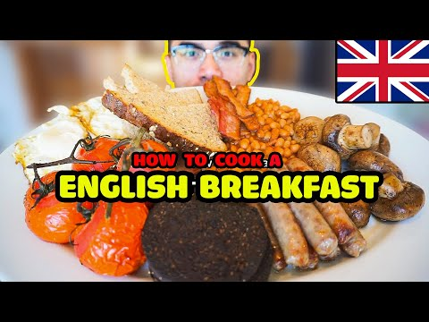 How to cook a ENGLISH BREAKFAST