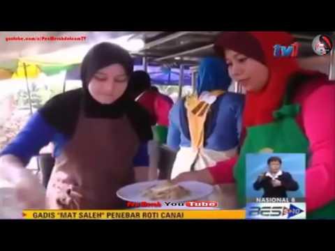 Gadis Minah Salleh Cun Itali Penebar Roti Canai Di Alor Setar