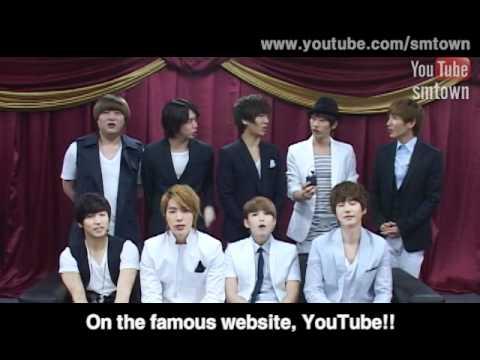 SMTOWN OPEN INTERVIEW.(BY Super Junior)