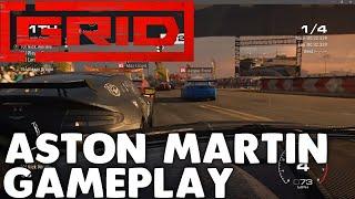 Grid 2019 Aston Martin Vantage GT4 GT Group 2 Super Sprint at Havana Gameplay