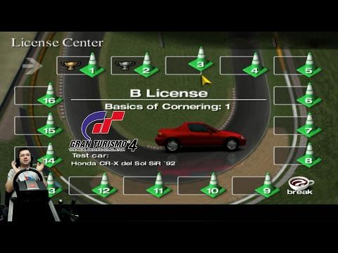 Получение лицензии 'B'