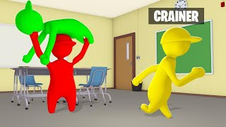 Get Caught By The EVIL TEACHER = You LOSE! (Human Fall Flat)