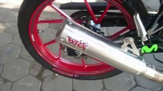 Knalpot WRX GP6 K2/K150 Suzuki Satria F150 Injeksi