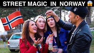 STREET MAGIC IN NORWAY🇳🇴-Julien Magic