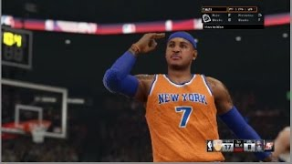"NBA 2K15 My League Fantasy (LEGENDS) Mode Ep.5 - New York Knicks | ""MELO IS ON FIRE"" 