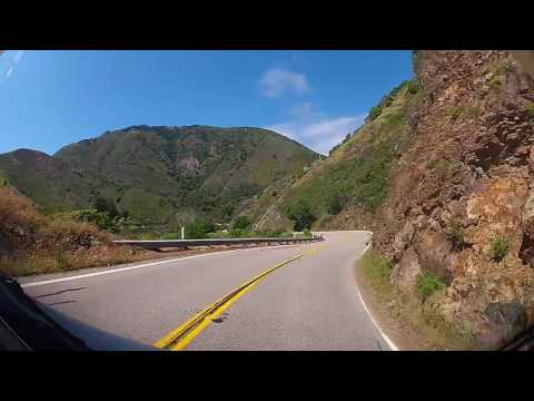 KKTakeUSA - Driving The Pacific Coast Highway through Big Sur