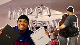 SURPRISING MY WIFE FOR HER 21ST BIRTHDAY