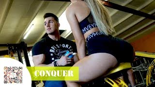 CONQUER 🏆  - Aesthetic Fitness Motivation