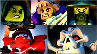 Лего Ниндзяго День Предков мультфильм. TOP 5 LEGO злодеев Ninjago Day of the Departed
