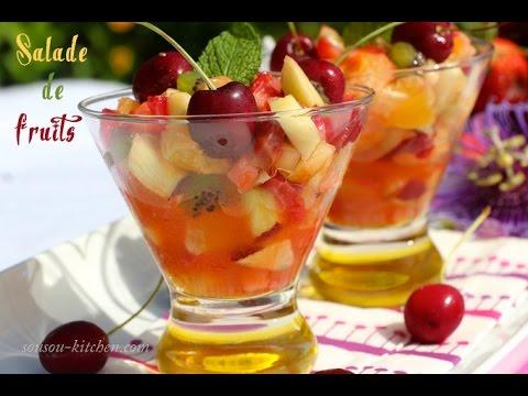 recette salade de fruits fruit salad recipe youtube. Black Bedroom Furniture Sets. Home Design Ideas