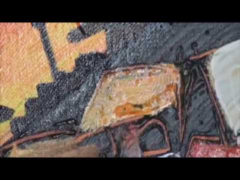 Fine art tips with a Free Mixed Media Art Lessons Nick Broughton on Colour In Your Life