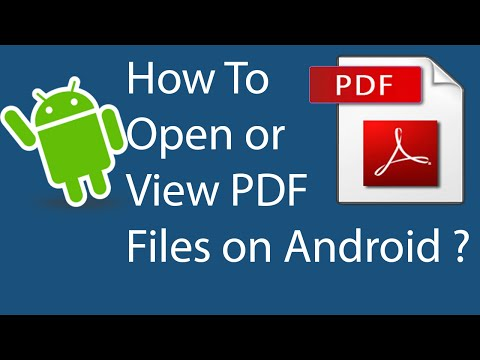 How To Open Or View PDF Files On Android Phones?