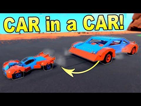 DESTRUCTIVE CAR TRANSFORMER! Big Car to Small Car - Trailmakers Gameplay