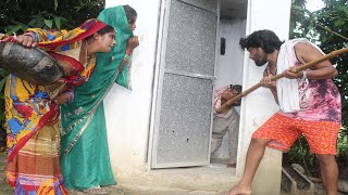 Bhojpuri Comedy || लैटरीनग कारे बुड़वा पतोहिया कहे दरवाजा बंद | परिवारीक कॉमेडी, Bhojpuri Comedy 2019