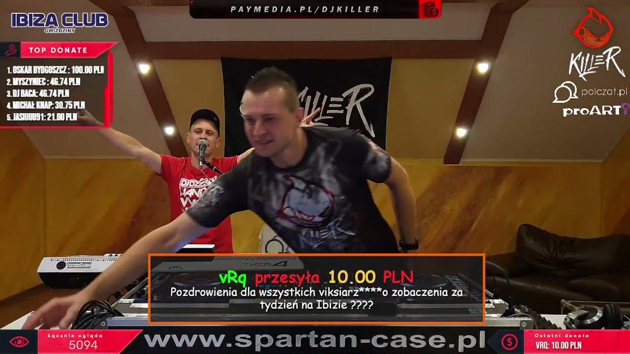 Download Dj Killer & Dj Dziekan Live Mix - Niedzielne Granie Na Spontanie 19.09.2021