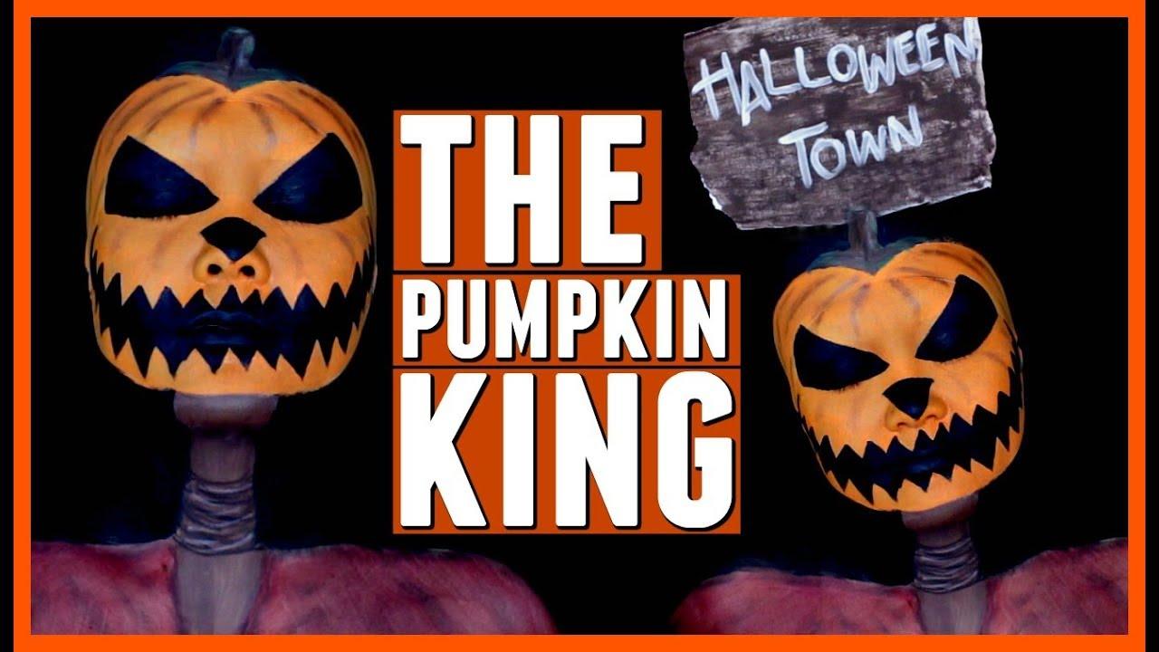 The Pumpkin King Makeup Tutorial | The Nightmare Before Christmas ...