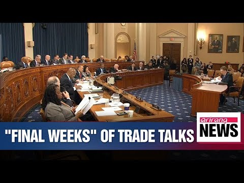 USTR Lighthizer says he sees trade talks with China entering their final weeks