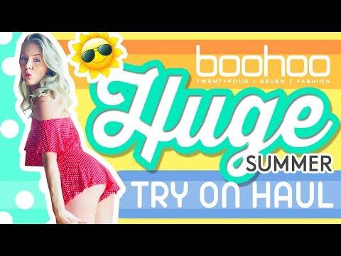 SEXY SUMMER TRY ON HAUL   *NEW* BooHoo Haul!