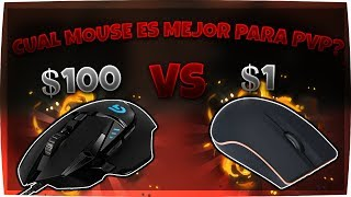 1$ vs 100$ MOUSE PvP Minecraft INCREÍBLE