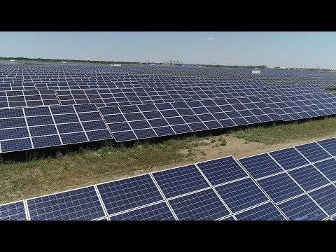 Первая солнечная электростанция запущена на Старополье