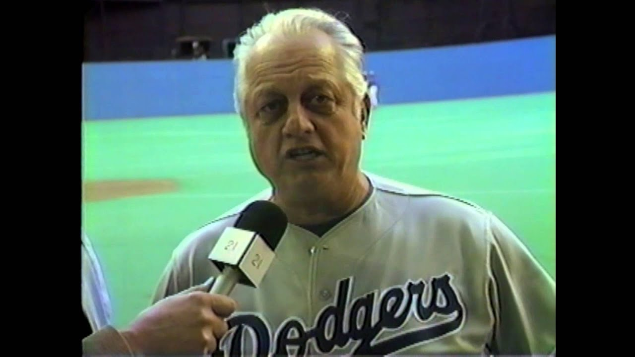 L.A. Dodger Manager Tommy Lasorda - 1985