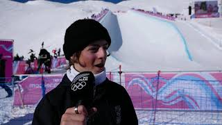 Luca Harrington wins bronze for New Zealand at the Winter Youth Olympic Games