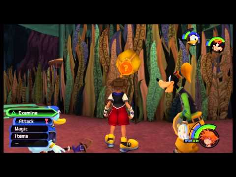 Kingdom Hearts 1 HD Walkthrough: Finding Evidence to Free Alice
