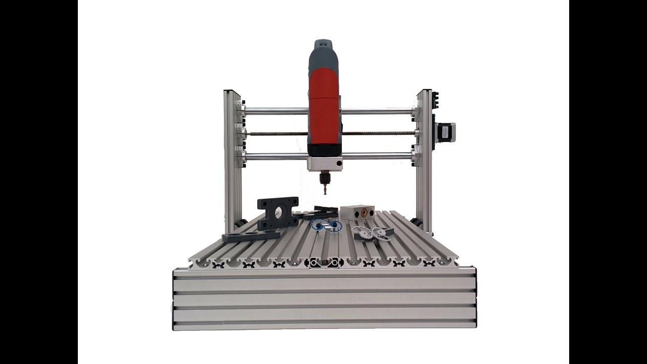 Como construir tu fresadora cnc profesional de 3 ejes for Mesa fresadora casera