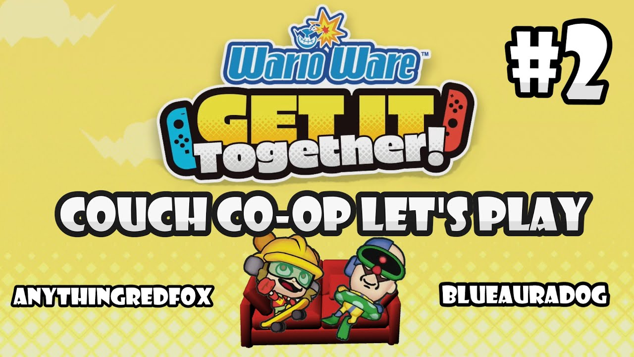 [Let's Play] [Couch Co-Op] WarioWare: Get It Together! - PART 2: 9-Volt & Crygor [Nintendo