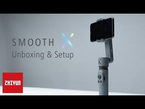ZHIYUN TUTORIALS | SmoothX Official Tutorial | Unbox & Setup