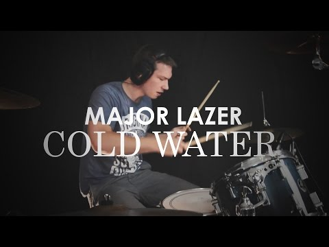 Major Lazer - Cold Water (R3hab vs Skytech Remix) - Drum Cover