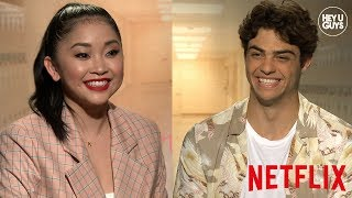 Revealing secrets of Netflix's To All the Boys I've Loved Before - Noah Centineo & Lana Condor