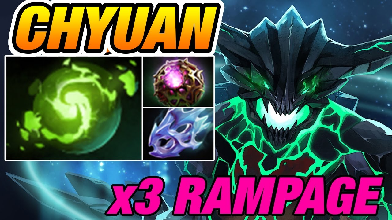 Wtf He Is Too Strong Triple Rampage Ending Chyuan Od Dota
