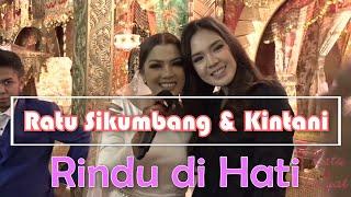 Ratu duet dgn Kintani di acara Wedding Ratu Sikumbang