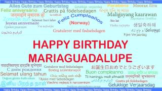 MariaGuadalupe   Languages Idiomas - Happy Birthday