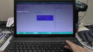 видео Не загружается ноутбук Lenovo