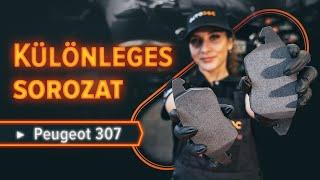PEUGEOT 307 SW (3H) hátsó és első Fékbetét készlet cseréje - videó útmutatók