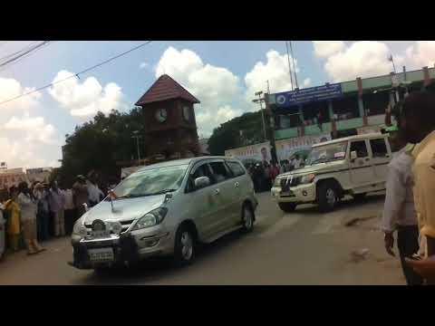Siddaramaya coming Bellary with car