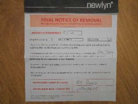 Newlyn plc Bailiff accepts Immunity Offer to cease crimes of Theft & Extortion