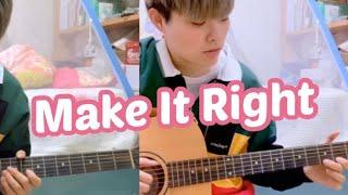 Baixar *Acoustic Remix*  방탄소년단(BTS) - Make It Right (feat. Lauv) - [기타 커버=Acoustic cover]