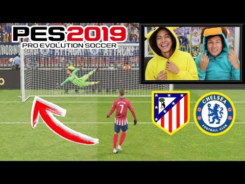 PENALTIS CON CASTIGO ¡¡RETO PES 2019!! 😱  Atlético Madrid vs Chelsea