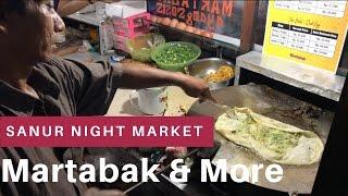 Ночной рынок Санура || Не только вкусная еда на Бали