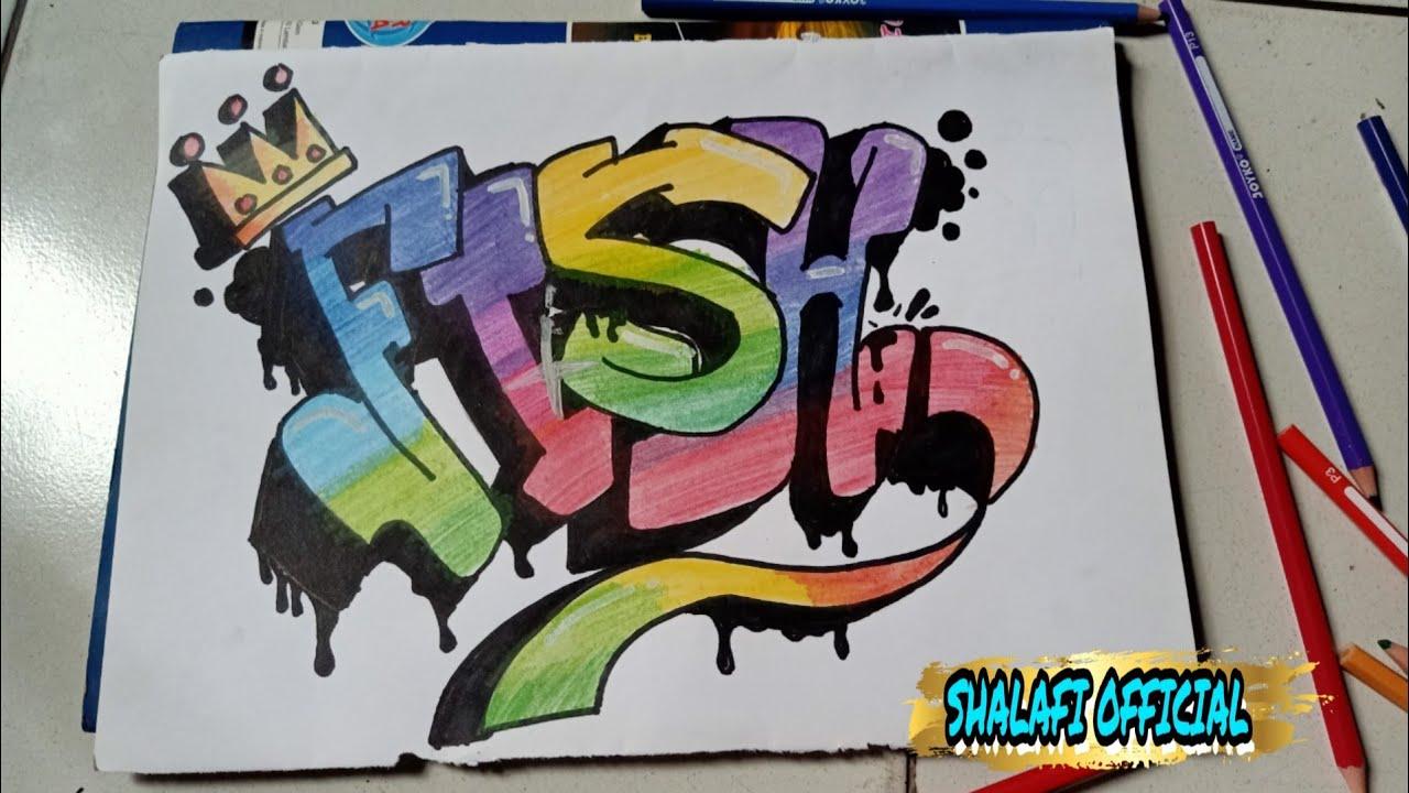 Graffiti Gambar Graffiti Fish Nickname Fakeinshit Wendi Cagur